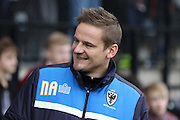 AFC Wimbledon Manager Neal Ardley during the Sky Bet League 2 match between Notts County and AFC Wimbledon at Meadow Lane, Nottingham, England on 23 January 2016. Photo by Stuart Butcher.