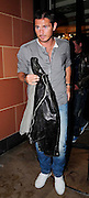 29.JULY.2009 - LONDON<br /> <br /> CHELSEA AND ENGLAND FOOTBALLER FRANK LAMPARD LEAVING CIPRIANI RESTAURANT, MAYFAIR AT 10.30PM AFTER HAVING DINNER WITH SOME FRIENDS AND AS HE LEFT THE RESTAURANT HE HAD HIS JACKET TRYING TO COVER THE FOOD STAINS ON HIS JEANS.<br /> <br /> BYLINE: EDBIMAGEARCHIVE.COM<br /> <br /> *THIS IMAGE IS STRICTLY FOR UK NEWSPAPERS & MAGAZINES ONLY*<br /> *FOR WORLDWIDE SALES & WEB USE PLEASE CONTACT EDBIMAGEARCHIVE - 0208 954 5968*