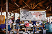 There was an abundance of seafood to be had at the Delaware Bay Day event held at the Bayshore Center at Bivalve
