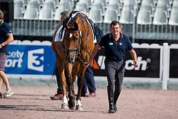 Sophie Christiansen, (GBR), Janeiro 6 - Individual Test Grade Ia Para Dressage - Alltech FEI World Equestrian Games™ 2014 - Normandy, France.<br /> © Hippo Foto Team - Jon Stroud <br /> 25/06/14