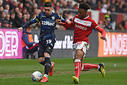 Leeds United midfielder Pablo Hernandez (19) on the attack during the EFL Sky Bet Championship match between Bristol City and Leeds United at Ashton Gate, Bristol, England on 9 March 2019.