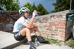 Cecilie Uttrup Ludwig (DEN) after Stage 10 of 2019 Giro Rosa Iccrea, a 120 km road race from San Vito al Tagliamento to Udine, Italy on July 14, 2019. Photo by Sean Robinson/velofocus.com