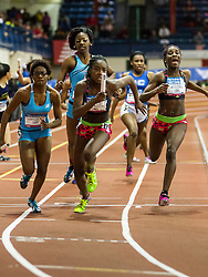 NSAF 2014 New Balance Nationals Indoor, girls 4x200 relay