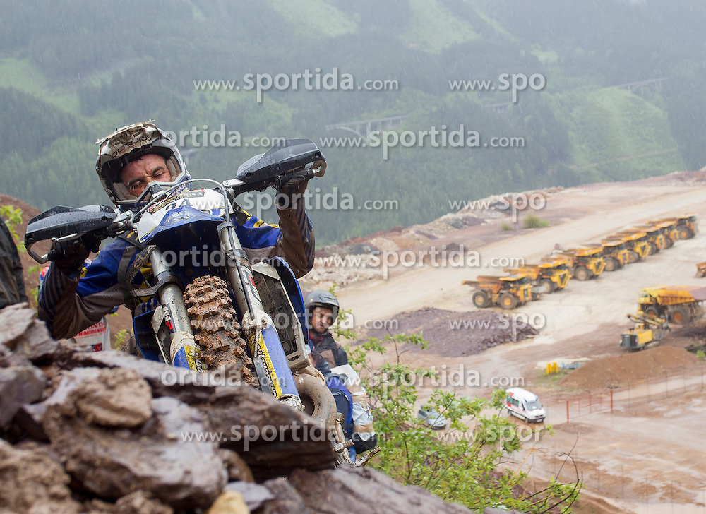 02.06.2013, Erzberg, Eisenerz, AUT, Erzbergrodeo, Red Bull Hare Scramble, im Bild Alfredo Gomez Cantero (Husaberg / ESP) // during the Erzbergrodeo, Red Bull Hare Scramble, at the Erzberg, Eisenerz, Austria on 2013/06/02, EXPA Pictures © 2013, PhotoCredit: EXPA/ Erwin Scheriau