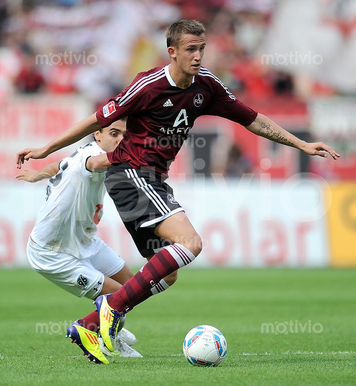 FUSSBALL   1. BUNDESLIGA  SAISON 2011/2012   2. Spieltag 1 FC Nuernberg - Hannover 96          13.08.2011 Tomas Pekhart (1 FC Nuernberg)