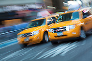 Taxis In New York, USA