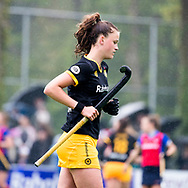 BILTHOVEN  - Hockey -  1e wedstrijd Play Offs dames. SCHC-Den Bosch (0-1). Rosa Fernig (Den Bosch)   COPYRIGHT KOEN SUYK