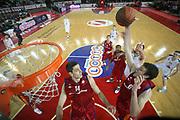 DESCRIZIONE : Roma Eurolega 2008-09 Lottomatica Virtus Roma Union Olimpija Lubiana<br /> GIOCATORE : Angelo Gigli<br /> SQUADRA : Lottomatica Virtus Roma<br /> EVENTO : Eurolega 2008-2009<br /> GARA : Lottomatica Virtus Roma Union Olimpija Lubiana<br /> DATA : 18/12/2008 <br /> CATEGORIA : rimbalzo special<br /> SPORT : Pallacanestro <br /> AUTORE : Agenzia Ciamillo-Castoria/E.Castoria