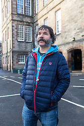 "Local businessman, Andrew Burnett is wearing an elaborate moustache for a week to raise funds to help his daughter's (Alexa) school raise funds to build a new playground.<br /> <br /> Andrew had grown a beard over a number of months and took to Facebook to ask friends to donate toward the school fund and in return they could suggest the half-way style before he returns to being clean-shaven.<br /> <br /> Andrew said, ""Royal Mile Primary School is the only primary in Edinburgh's Old Town and it is a brilliant school but doesn't have equipment for the children to play on. If me looking stupid for a week can raise a few pounds for the fund then it will be great!""<br /> <br /> The Royal Mile Primary School, originally known as Milton House School, is situated on the Canongate in the heart of Edinburgh, the only operational primary school left within the historic Old Town. The school wants to build a modern playground complete with various climbing structures, space to run around in and quiet corners. This would not only enrich the lives of the current student body but would enhance the lives of many future generations of children as well. <br /> <br /> The school has a target of £60,000 and has already raised over £17,000 through a Go Fund Me page https://www.gofundme.com/RMPSplayground"