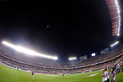 03-03-2007 VOETBAL: SEVILLA FC - BARCELONA: SEVILLA  <br /> Sevilla wint de topper met Barcelona met 2-1 / Stadion Ramon Sanchez Pizjuan met een maanverduistering<br /> &copy;2006-WWW.FOTOHOOGENDOORN.NL