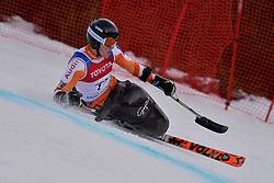 de LANGEN Niels LW12-2 NED at 2018 World Para Alpine Skiing Cup, Kranjska Gora, Slovenia