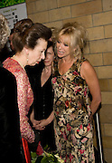 PRINCESS ROYAL; JO WOOD, Festival of Trees Gala Dinner. In aid of Save The Children.<br />