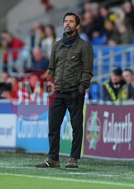 Watford Manager, Enrique Sanchez Flores watches on  - Mandatory by-line: Joe Meredith/JMP - 07966386802 - 28/07/2015 - SPORT - FOOTBALL - Cardiff,Wales - Cardiff City Stadium - Cardiff City v Watford - Pre-Season Friendly