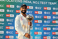 Cricket - India v New Zealand 3rd Test D4 at Indore