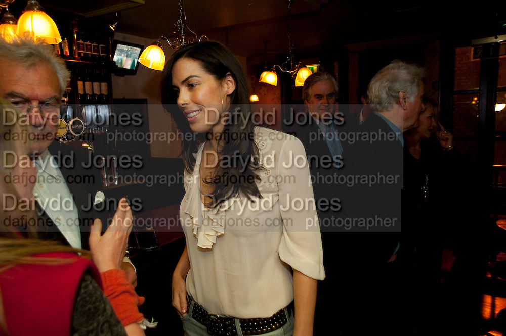 VICTORIA DE ROTHSCHILD, party after the press night of 'The Last Cigarette' at  the Trafalgar Studios. Party at Walkers, Craig's Court, Whitehall. London.  28 April 2009