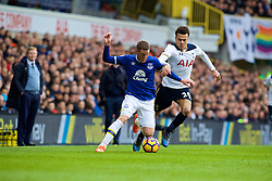 LONDON, ENGLAND - Sunday, March 5, 2017: Everton's James McCarthy in action against Tottenham Hotspur's Dele Alli during the FA Premier League match at White Hart Lane. (Pic by David Rawcliffe/Propaganda)