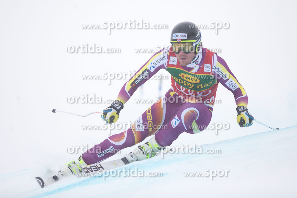 22.02.2015, Schneekristall Zwolfer Weltcupstrecke, Saalbach Hinterglemm, AUT, FIS Weltcup Ski Alpin, Super G, Herren, im Bild Kjetil Jansrud (NOR, 3. Platz) // third Placed Kjetil Jansrud of Norway in action during the men's SuperG of the Saalbach FIS Ski Alpine World Cup at the Schneekristall Zwolfer course in Saalbach Hinterglemm, Austria on 2015/02/22. EXPA Pictures © 2015, PhotoCredit: EXPA/ Johann Groder
