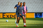 Chelsea forward Kenedy (16) during the Chelsea Training session ahead of the 2019 UEFA Super Cup Final between Liverpool FC and Chelsea FC at BJK Vodafone Park, Istanbul, Turkey on 13 August 2019.