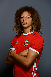 CARDIFF, WALES - Tuesday, September 4, 2018: Wales' Ethan Ampadu. (Pic by David Rawcliffe/Propaganda)