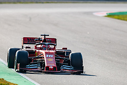 February 28, 2019 - Montmelo, Barcelona, Calatonia, Spain - Charles Leclerc of Scuderia Ferrari  seen in action during the 3rd journey of second week F1 Test Days in Montmelo circuit. (Credit Image: © Javier Martinez De La Puente/SOPA Images via ZUMA Wire)