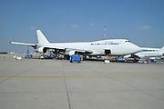 Israel, Ben-Gurion international Airport El Al Cargo, Boeing 747-200