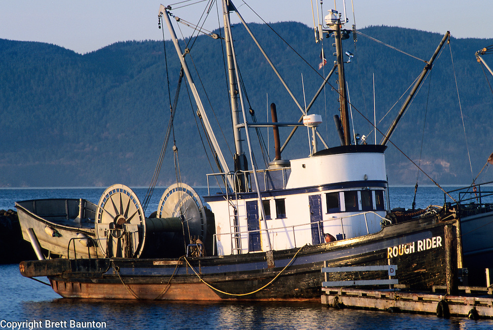 Rough Rider fishing boat, Bellingham Bay, WA