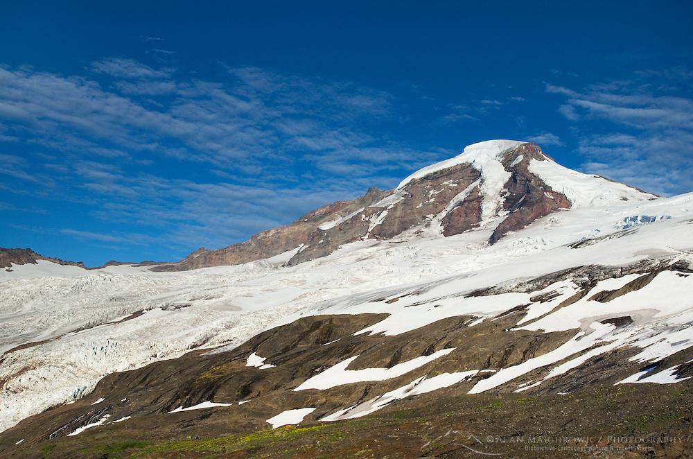 Mount Baker (10,778 feet, 3,285 m) northernmost volcano in the Cascade Range