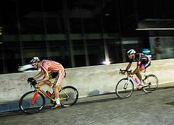 Aldo Ino Ilesic and Bruno Maltar at Night Criterium - Kranj 2016, on July 30, 2016 in Kranj, Slovenia. Photo by Vid Ponikvar / Sportida