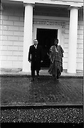 11/09/1962<br /> 09/11/1962<br /> 11 September 1962<br /> Dr Franklin of Nigeria at Aras an Uachtarain, Phoenix Park, Dublin.
