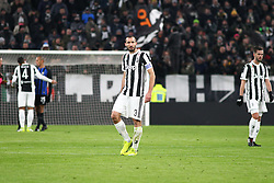 December 9, 2017 - Turin, Piedmont, Italy - Giorgio Chiellini (Juventus FC) during the Serie A football match between Juventus FC and FC Internazionale at Allianz Stadium on 09 December, 2017 in Turin, Italy..The final score is 0-0. (Credit Image: © Massimiliano Ferraro/NurPhoto via ZUMA Press)