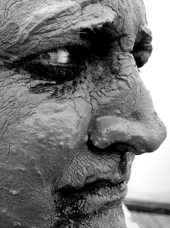Mudman, Salinas de San Pedro, Spain