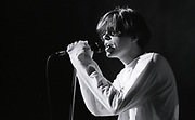 Tim Burgess, Happy Mondays performing at Granada TV Studios, Manchester, 1989