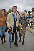 Duchess of Alba dies<br /> <br /> File Photo <br /> <br /> <br /> SEVILLE, SPAIN - MARCH 31, 2013: Duchess of Alba, Cayetana Fitz-James Stuart, and Alfonso Diez attend bullfighs at La Maestranza Bullring.<br /> ©Exclusivepix