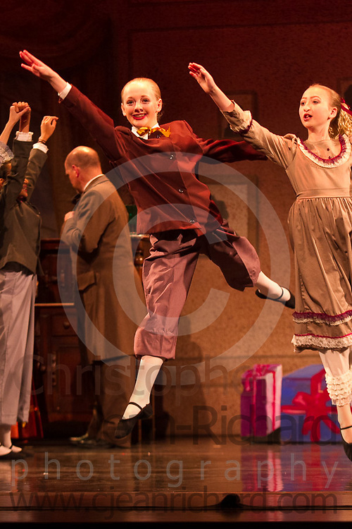 Students of the Payne Academy of Performing Arts on stage in the Dress Rehearsal of The Nutcracker.<br /> <br /> Tickets: http://www.nutcrackertheballet.com/<br /> <br /> November 2014<br /> The Woodlands College Park High School.<br /> The Woodlands, Texas