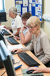 Adult Literacy IT class