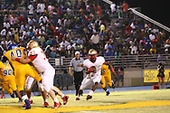 Lafayette High's D.K. Buford (2) vs. Tupelo in Tupelo, Miss. on Friday, August 23, 2013. Tupelo won.