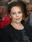 October 13, 2015 - Olivia Colman attending 'The Lobster' screening at BFI London Film Festival at Vue Cinema, Leicester Square in London, UK.<br /> ©Exclusivepix Media