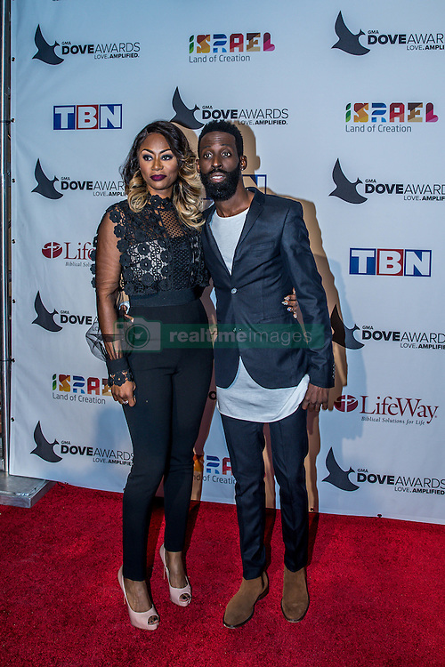 October 11, 2016 - Nashville, Tennessee, USA - Tye Tribbett at the 47th Annual GMA Dove Awards  in Nashville, TN at Allen Arena on the campus of Lipscomb University.  The GMA Dove Awards is an awards show produced by the Gospel Music Association. (Credit Image: © Jason Walle via ZUMA Wire)