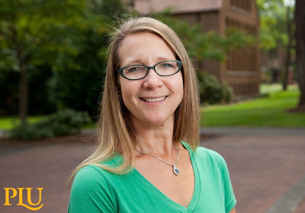 Beth Capon, SOAC, at PLU on Friday, Aug. 28, 2015. (Photo: John Froschauer/PLU)