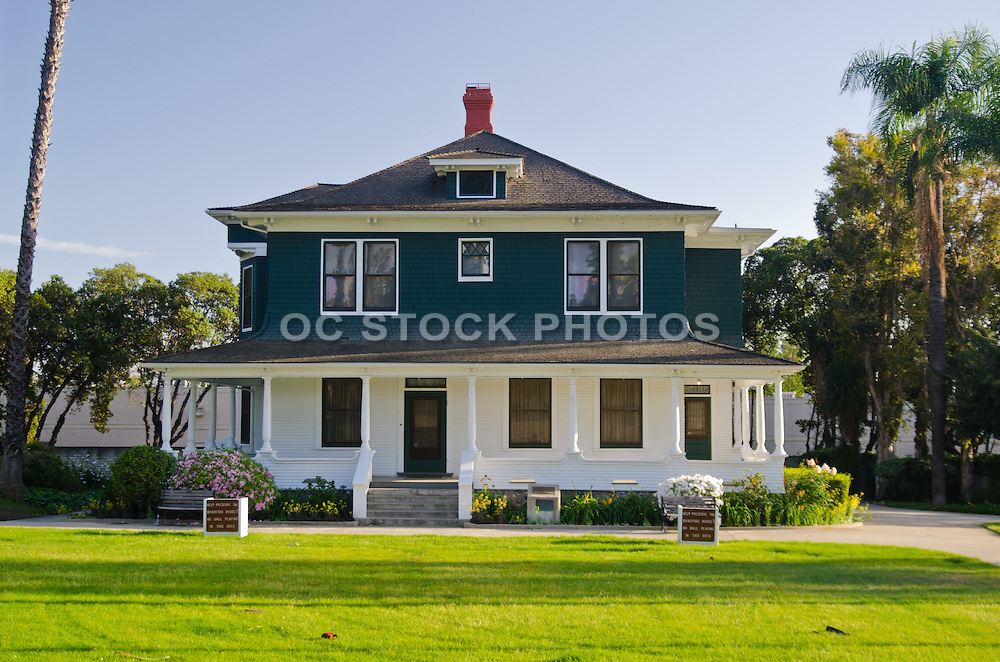The A. S. Bradford House in Placentia California