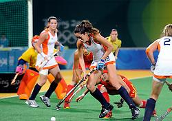 22-08-2008 HOCKEY: OLYMPISCHE SPELEN FINALE CHINA - NEDERLAND: BEIJING <br /> Nederland Olympisch kampioen - Naomi van As<br /> ©2008-FotoHoogendoorn.nl