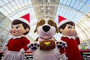 UNITED KINGDOM, London: 22 January 2019. Character's pose for a picture at The Toy Fair 2019 being held at Olympia London this morning. The Toy Fair, which runs between 22nd-24th of January, is the UK's largest toy trade event with over 250 exhibiting companies launching thousands of new products. <br /> Rick Findler / Story Picture Agency