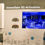 Immediate 5G Activation  Tri-band 2T4R RRU,High power Output exhibition at 5G World at Excel London, on 11 June 2019, UK.