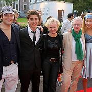 NLD/Utrecht/20080928 - Premiere Radeloos, Victor Löw, Marius Gottlieb, Renee Soutendijk, Carry Slee en Marloes van der Wel