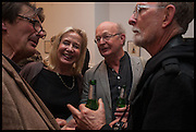 GARY WOOD; LADY GEORGANNE UXBRIDGE; RICHARD ADAMS; JIM ANDERSON, John Dunbar Private View, England and Co. 90-92 Great Portland Street, London 7 October 2014