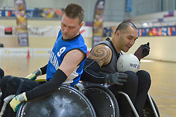 NZL V Finland at the 2016 IWRF Rio Qualifiers, Paris, France
