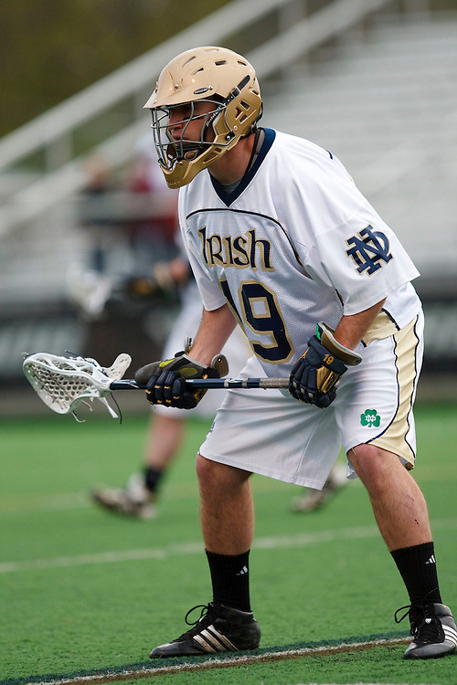May 1, 2009:   #19 Davey Melera of Notre Dame  in action during the NCAA Lacrosse game between Notre Dame and Quinnipiac at GWLL Tournament in Birmingham, Michigan. (Credit Image: Rick Osentoski/Cal Sport Media)