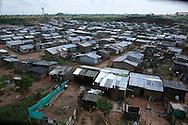 slum area in colombia