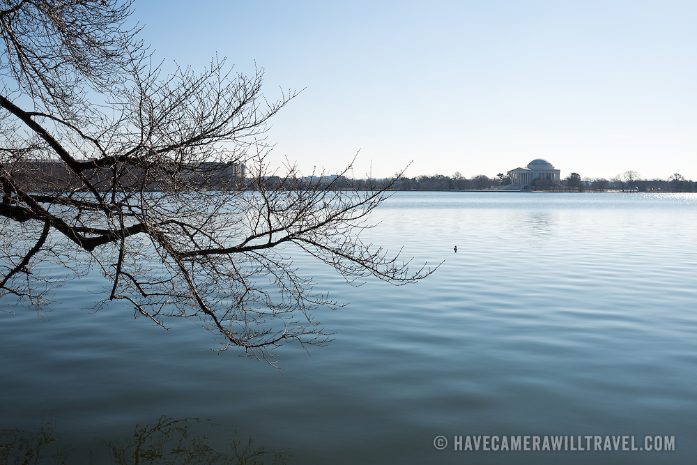 Each spring about 1,700 cherry trees around the Tidal Basin bloom in a colorful but brief floral display that brings large numbers of visitors to the region. The latest information on Washington DC's cherry blossom bloom of 2015 is available here.  [Photo: DAVID COLEMAN / HAVECAMERAWILLTRAVEL.COM]
