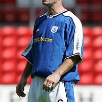 Darren Sheridan, St Johnstone FC<br /><br />Picture by Graeme Hart.<br />Copyright Perthshire Picture Agency<br />Tel: 01738 623350  Mobile: 07990 594431
